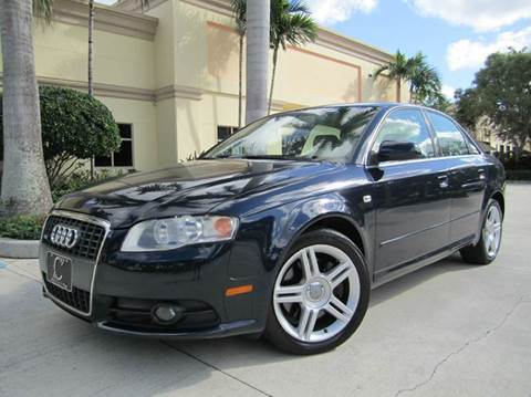 2008 Audi A4 for sale at FLORIDACARSTOGO in West Palm Beach FL