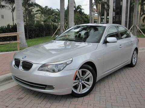 2009 BMW 5 Series for sale at FLORIDACARSTOGO in West Palm Beach FL