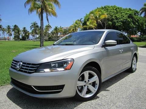 2013 Volkswagen Passat for sale at FLORIDACARSTOGO in West Palm Beach FL