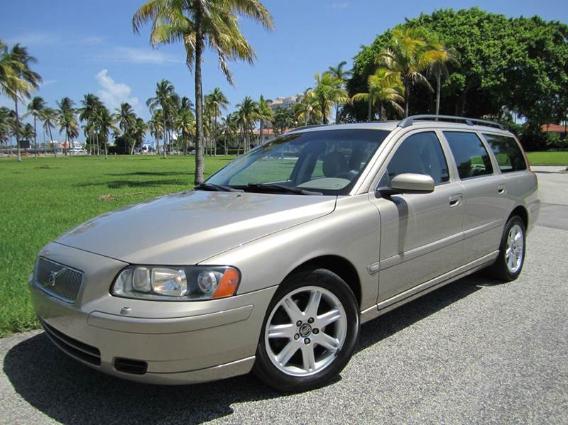 2005 Volvo V70 2 4 4dr Wagon In West Palm Beach FL