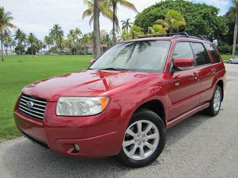 2006 Subaru Forester for sale at FLORIDACARSTOGO in West Palm Beach FL