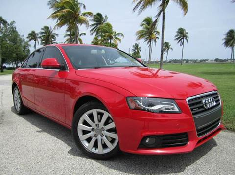 2009 Audi A4 for sale at FLORIDACARSTOGO in West Palm Beach FL