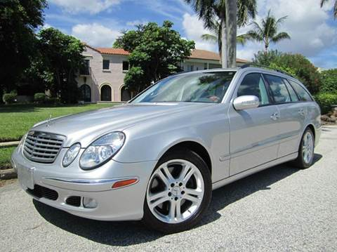2004 Mercedes-Benz E-Class for sale at FLORIDACARSTOGO in West Palm Beach FL