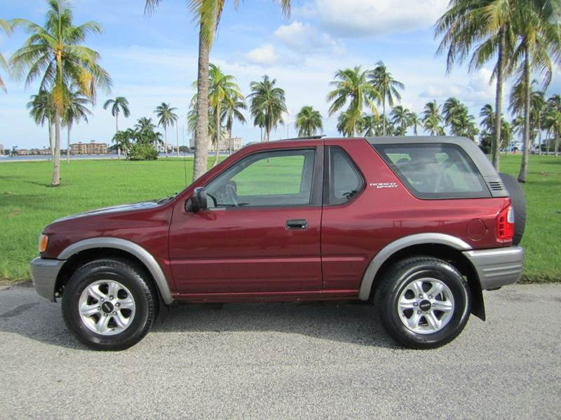 isuzu rodeo car history report