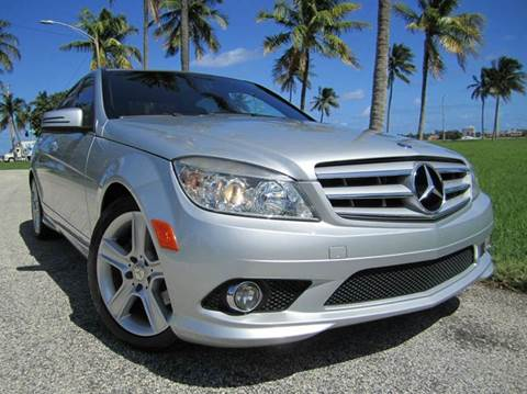 2010 Mercedes-Benz C-Class for sale at FLORIDACARSTOGO in West Palm Beach FL