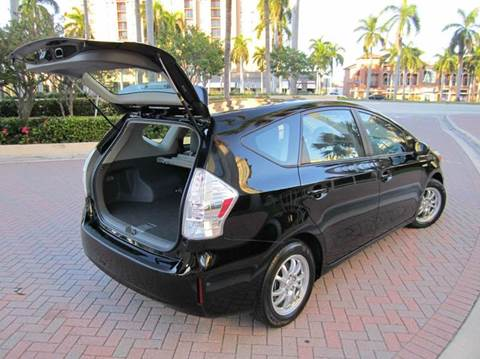 2012 Toyota Prius v for sale at FLORIDACARSTOGO in West Palm Beach FL
