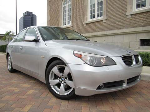 2007 BMW 5 Series for sale at FLORIDACARSTOGO in West Palm Beach FL