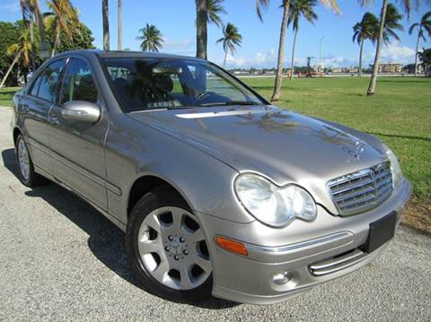 2006 Mercedes-Benz C-Class for sale at FLORIDACARSTOGO in West Palm Beach FL