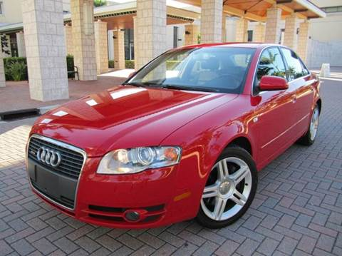 2007 Audi A4 for sale at FLORIDACARSTOGO in West Palm Beach FL