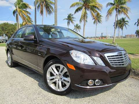 2011 Mercedes-Benz E-Class for sale at FLORIDACARSTOGO in West Palm Beach FL