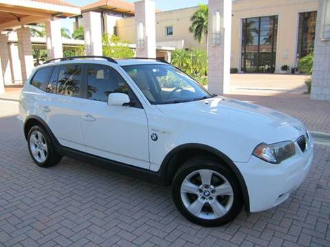 2006 BMW X3 for sale at FLORIDACARSTOGO in West Palm Beach FL