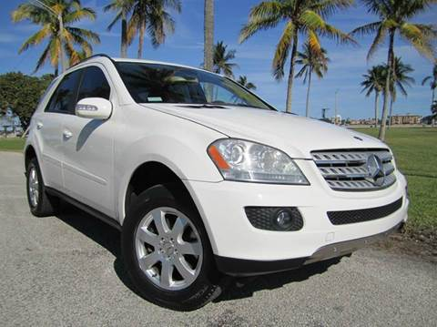 2007 Mercedes-Benz M-Class for sale at FLORIDACARSTOGO in West Palm Beach FL