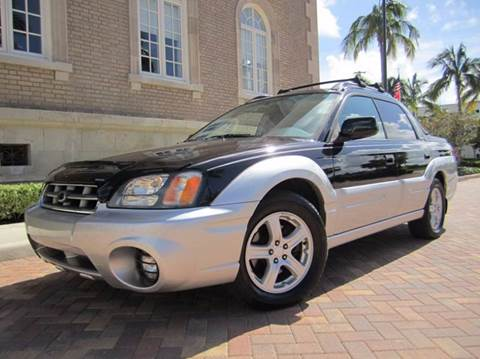 2003 Subaru Baja for sale at FLORIDACARSTOGO in West Palm Beach FL