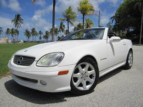 2004 Mercedes-Benz SLK for sale at FLORIDACARSTOGO in West Palm Beach FL