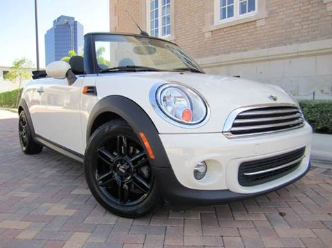 2011 MINI Cooper Convertible for sale at FLORIDACARSTOGO in West Palm Beach FL