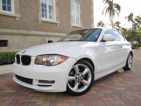 2008 BMW 1 Series for sale at FLORIDACARSTOGO in West Palm Beach FL