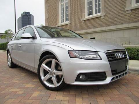 2010 Audi A4 for sale at FLORIDACARSTOGO in West Palm Beach FL