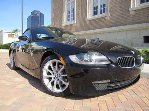 2007 BMW Z4 for sale at FLORIDACARSTOGO in West Palm Beach FL