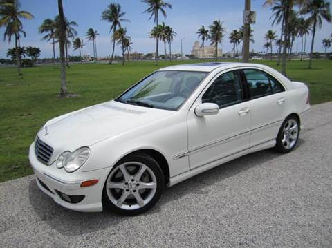 2007 Mercedes-Benz C-Class for sale at FLORIDACARSTOGO in West Palm Beach FL