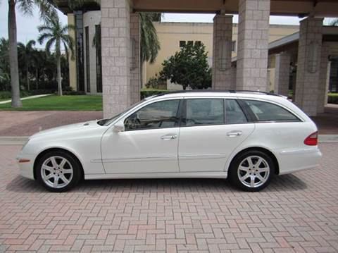 2008 Mercedes-Benz E-Class for sale at FLORIDACARSTOGO in West Palm Beach FL