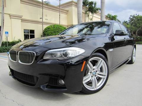 2011 BMW 5 Series for sale at FLORIDACARSTOGO in West Palm Beach FL