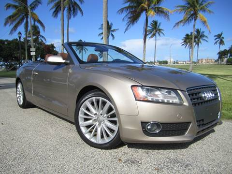 2011 Audi A5 for sale at FLORIDACARSTOGO in West Palm Beach FL