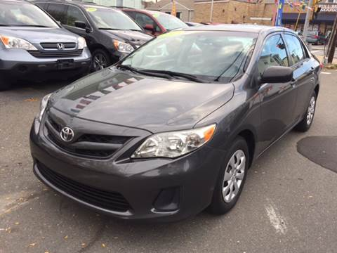 2013 Toyota Corolla for sale at Commercial Street Auto Sales in Lynn MA