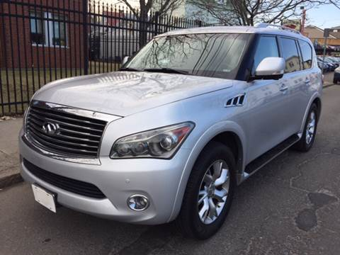 2011 Infiniti QX56 for sale at Commercial Street Auto Sales in Lynn MA