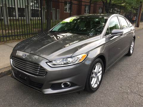 2013 Ford Fusion for sale at Commercial Street Auto Sales in Lynn MA