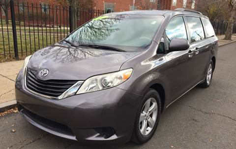2011 Toyota Sienna for sale at Commercial Street Auto Sales in Lynn MA