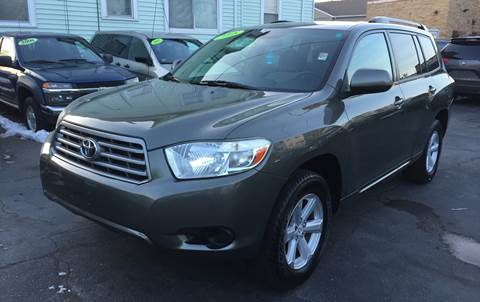 2008 Toyota Highlander for sale at Commercial Street Auto Sales in Lynn MA