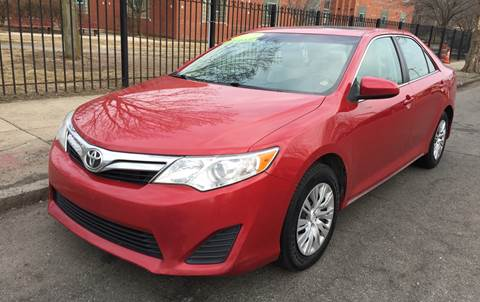 2013 Toyota Camry for sale at Commercial Street Auto Sales in Lynn MA
