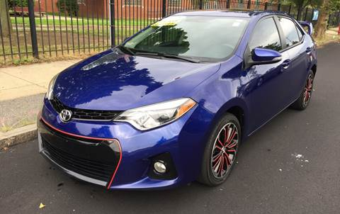 2015 Toyota Corolla for sale at Commercial Street Auto Sales in Lynn MA