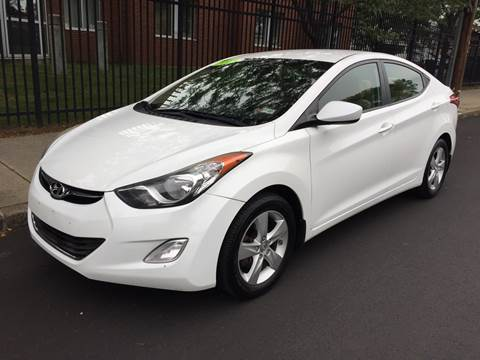 2013 Hyundai Elantra for sale at Commercial Street Auto Sales in Lynn MA