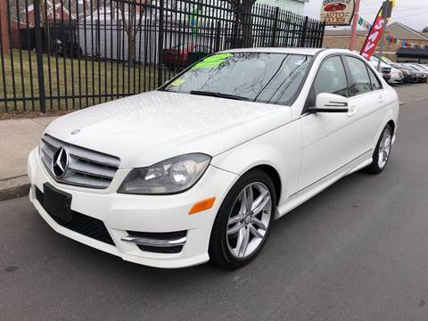 2012 Mercedes-Benz C-Class for sale at Commercial Street Auto Sales in Lynn MA