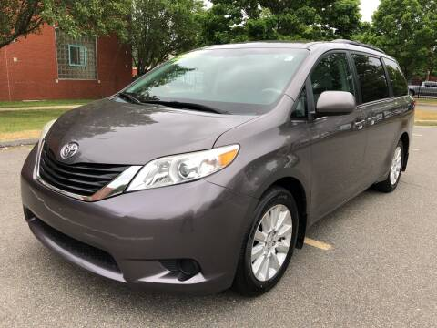 2012 Toyota Sienna for sale at Commercial Street Auto Sales in Lynn MA