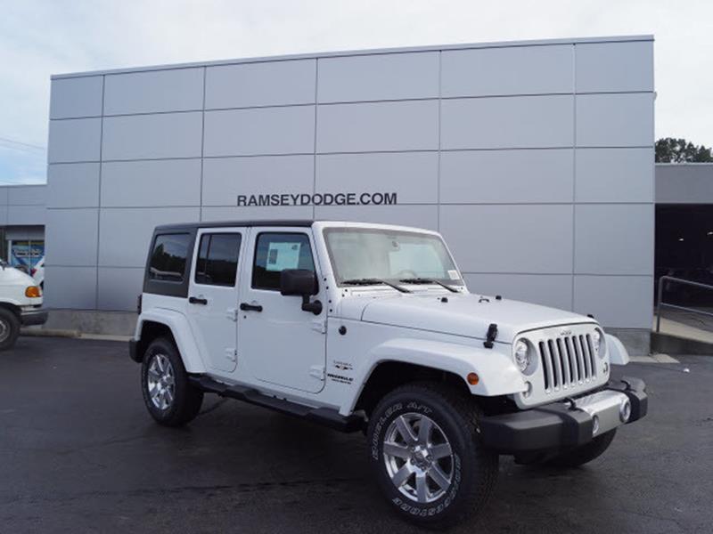 2017 jeep wrangler unlimited sahara in harrison ar for Ramsey motor company harrison ar