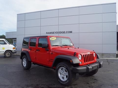 2017 Jeep Wrangler Unlimited for sale in Harrison, AR