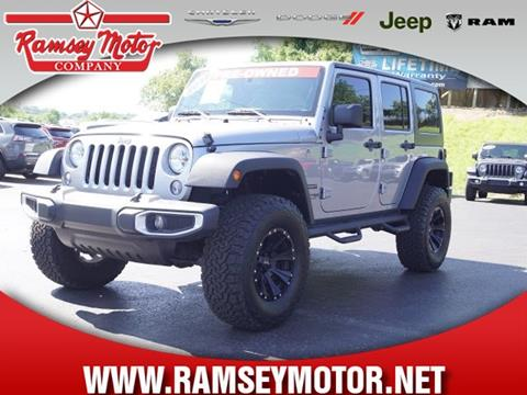 2018 Jeep Wrangler Unlimited for sale in Harrison, AR