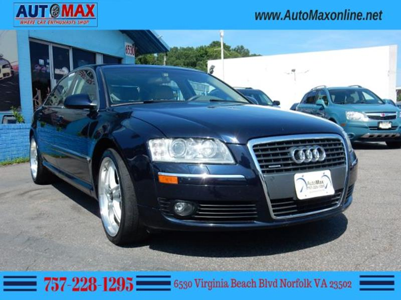 Audi A L AWD Quattro Dr Sedan In Norfolk VA Auto Max Of Norfolk - 2006 audi a8