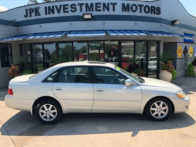 2000 Toyota Avalon For Sale At JPK Investment Motors In Lincoln NE