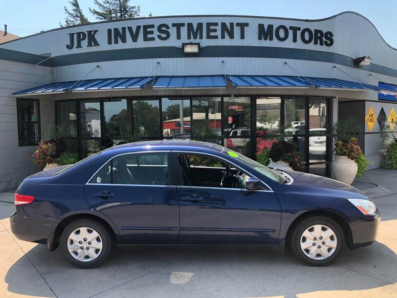 2004 Honda Accord For Sale At JPK Investment Motors In Lincoln NE