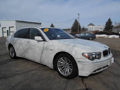 2004 BMW 7 Series for sale in North Hampton, NH