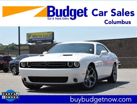 Cars For Sale In Columbus Ga >> 2016 Dodge Challenger For Sale In Columbus Ga