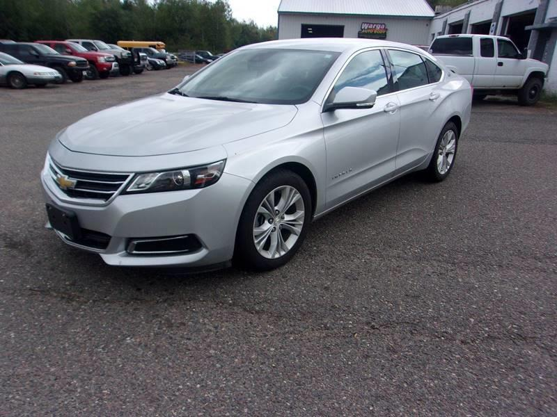 2015 Chevrolet Impala for sale at Warga Auto and Truck Center in Phillips WI