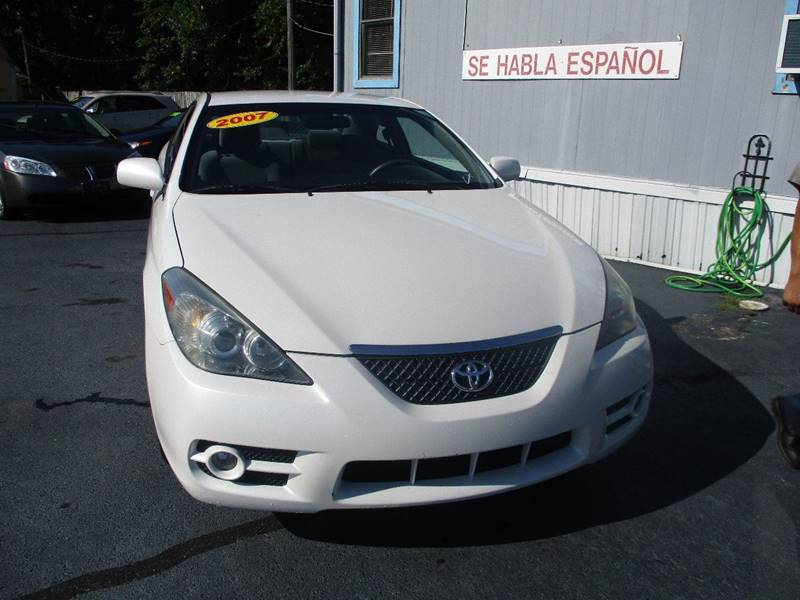 2007 Toyota Camry Solara SLE 2dr Coupe   Concord NC