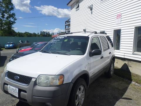 2001 Ford Escape for sale in East Montpelier, VT