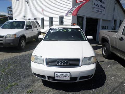2003 Audi A6 for sale in East Montpelier, VT