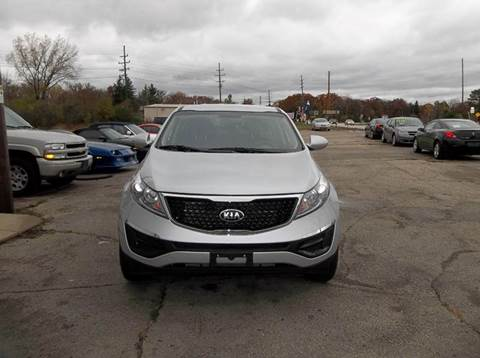 2015 Kia Sportage for sale at Highway 100 & Loomis Road Sales in Franklin WI