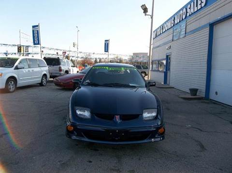 2001 Pontiac Sunfire for sale at Highway 100 & Loomis Road Sales in Franklin WI